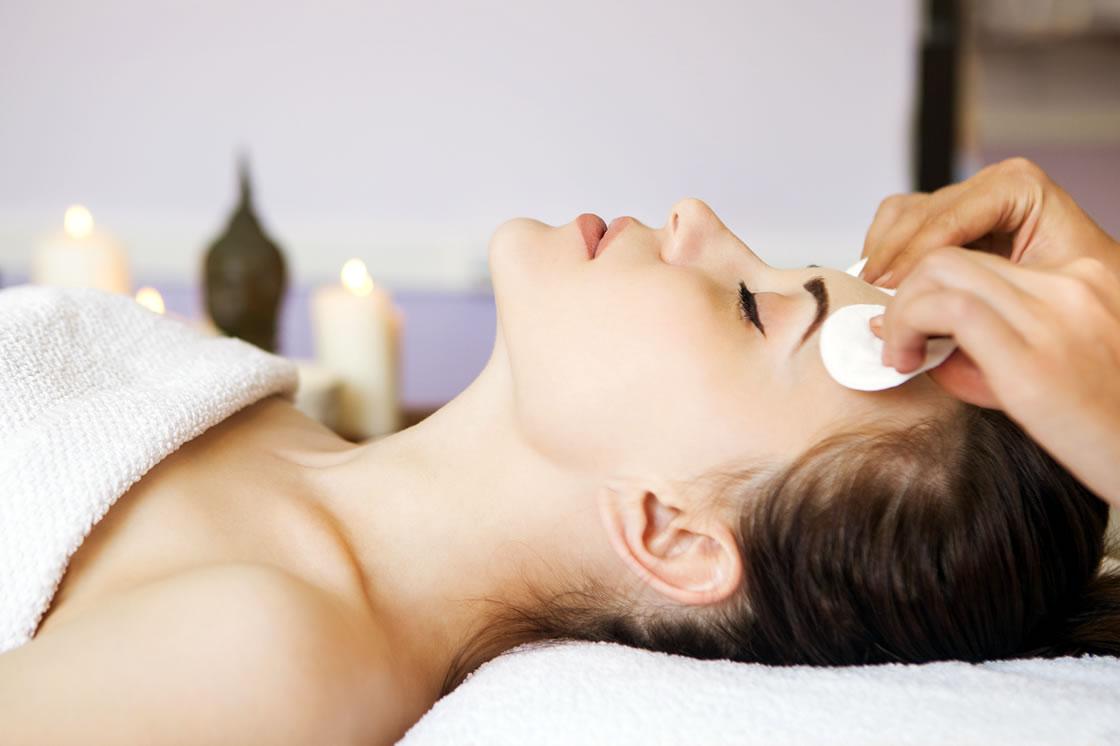 higiene facial con tratamiento